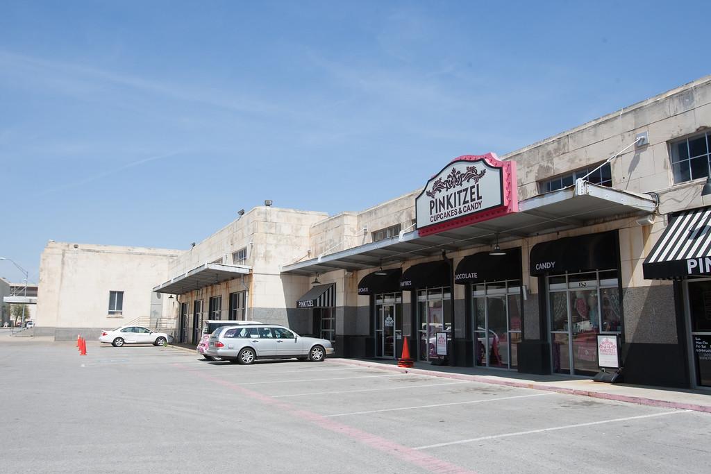 Pinkitzel at the Santa Fe Train Station in Oklahoma City.