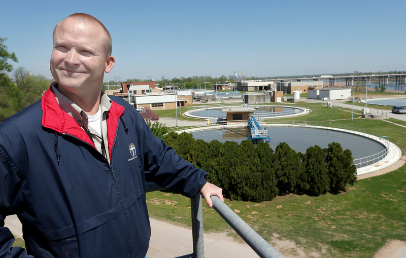 Matt Vaughan, Water Pollution Control Manager for the City of Tulsa.