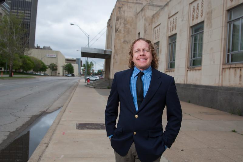 Jeff Bezdek with Modern Transit Project in Oklahoma City.