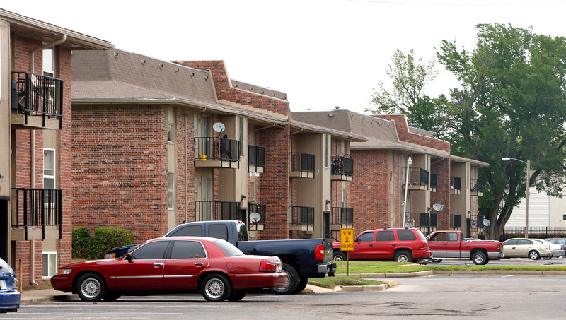 The Fairmont Terrace Apartments in South Tulsa.