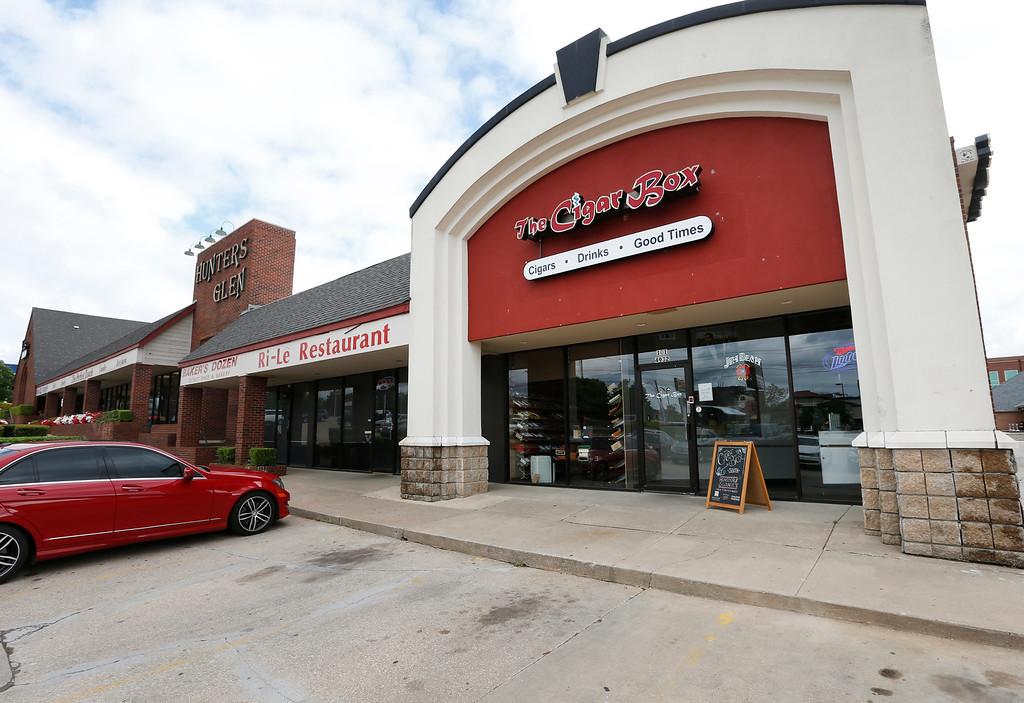 The Cigar Box in south Tulsa.