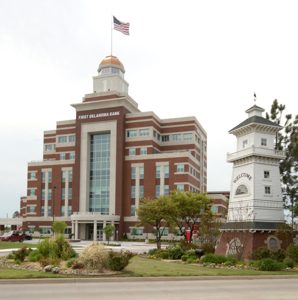 First Oklahoma  Bank has paid $11.9 million for its new headquarters at 100 S. Riverfront Drive in Jenks.