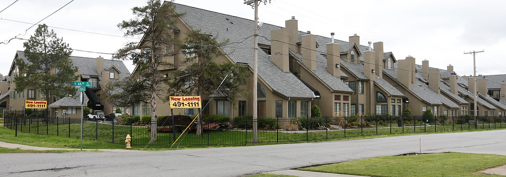 The Woodside Lane Condominiums. 6630 S. Peoria Ave in south Tulsa