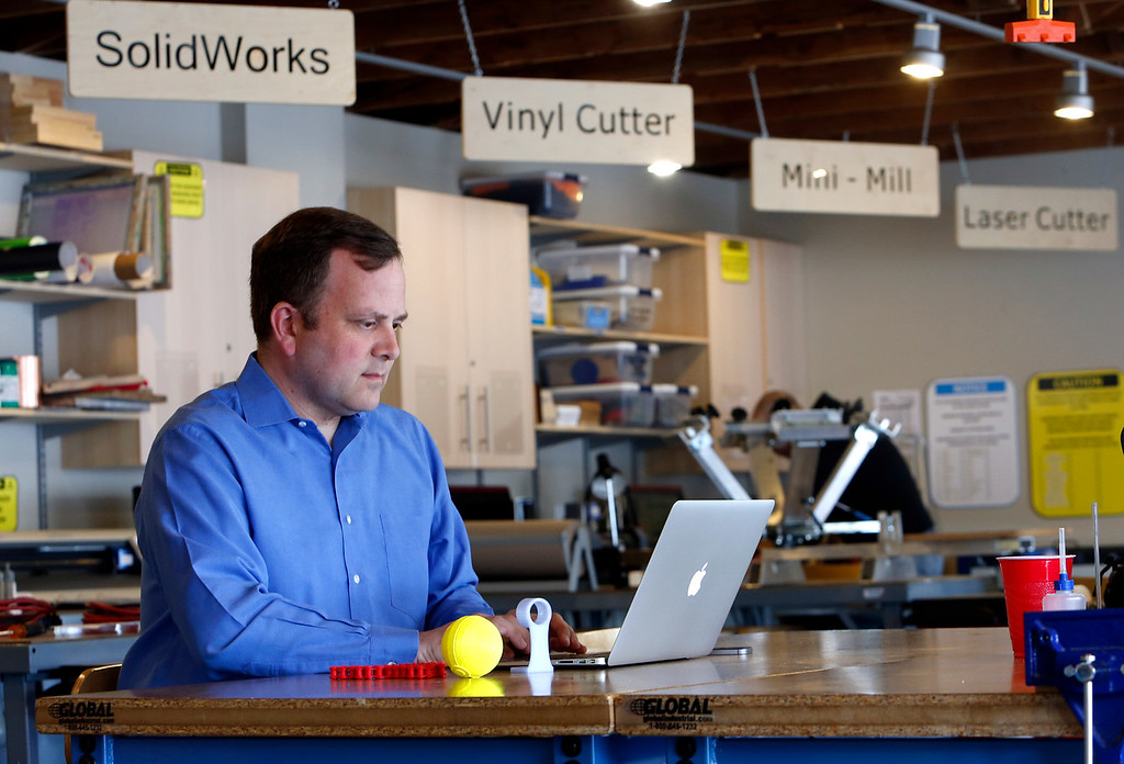 Startup event organizer Scott Phillips.