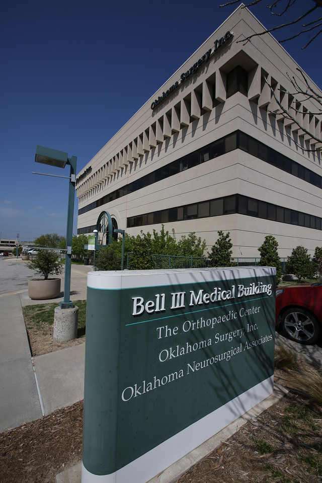 the Orthopaedic Center's midtown Tulsa office.