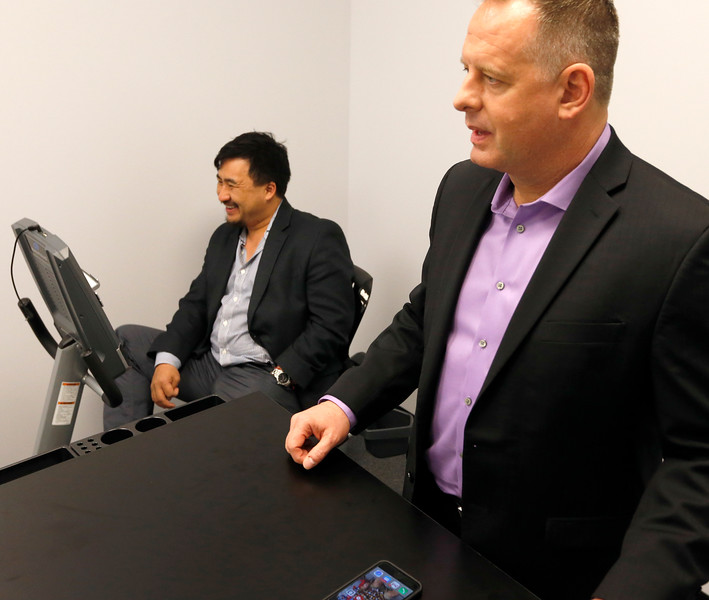 Vitalize.me CEO Hien Nguyen and Chief Medical Officer Jim Meehan.