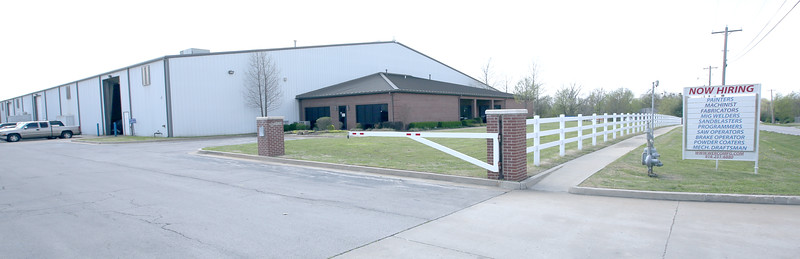 The Werthen Manufacturing facility in Broken Arrow.