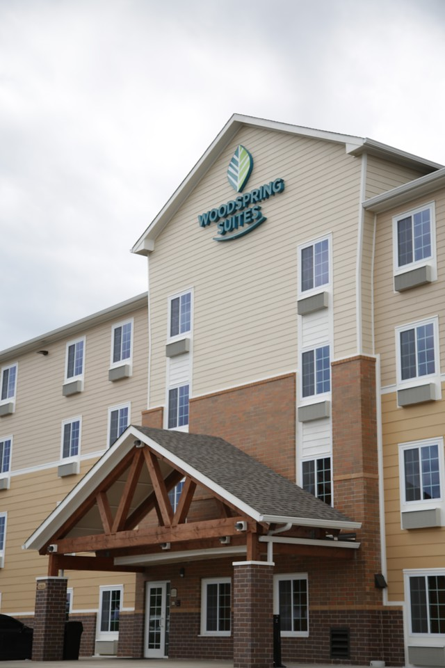 Woodspring Suites at I-40 and Meridian in Oklahoma City.