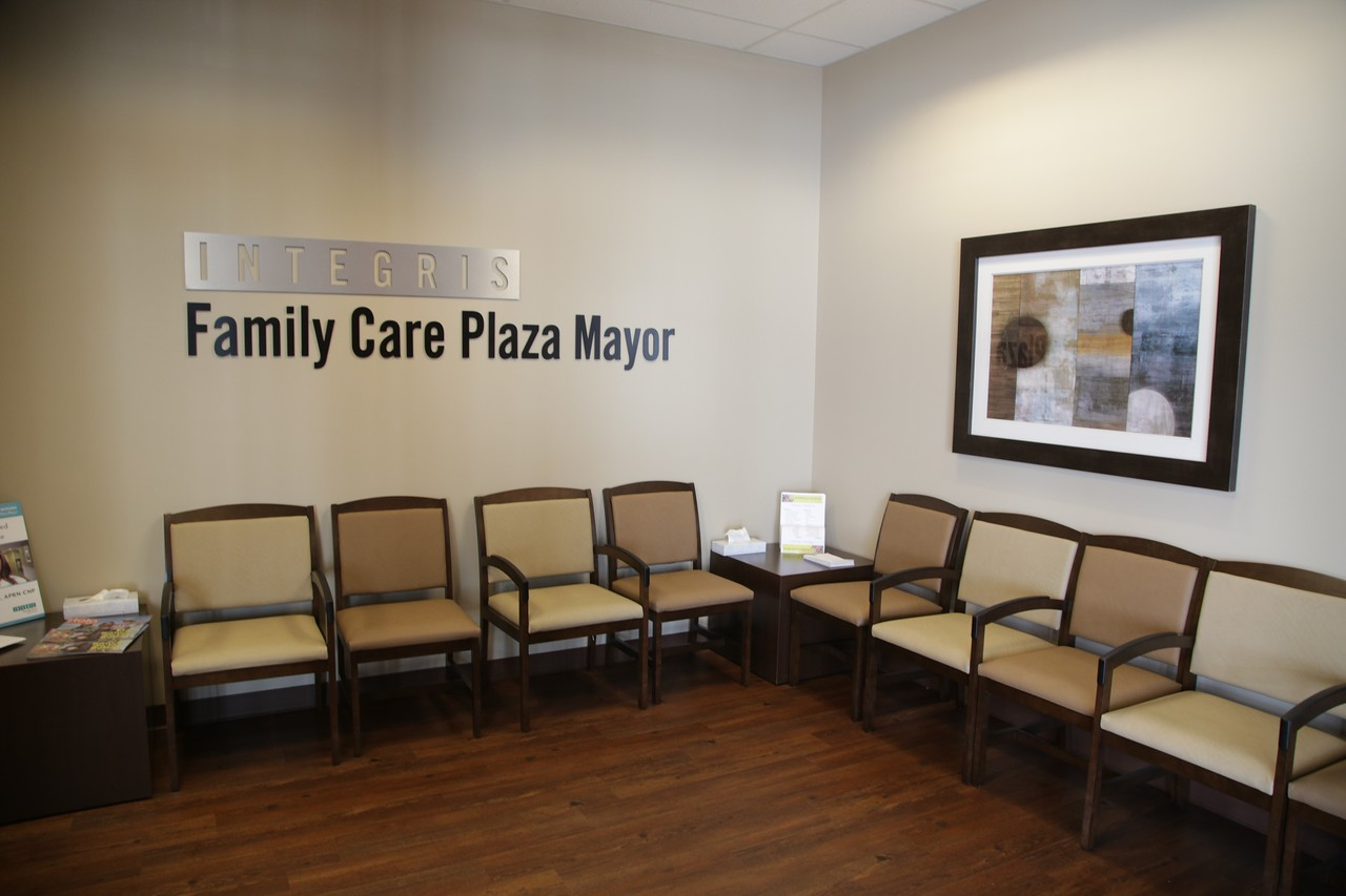 Integris has opened a clinic inside Plaza Mayor located at the crossroads of I-35 and I-240.