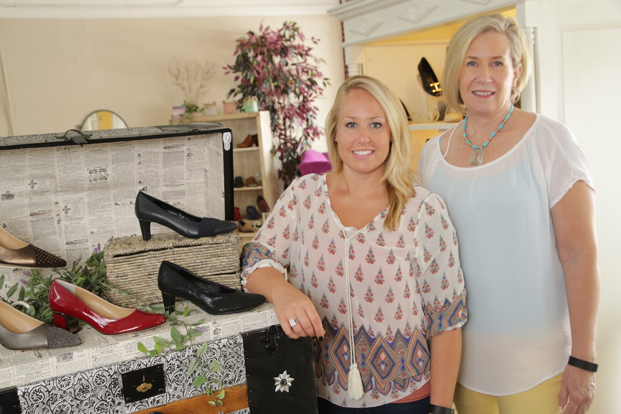 Sue and Kelsey Krominga own Head Over Heals Boutique at 104 S Broadway in Edmond, OK.