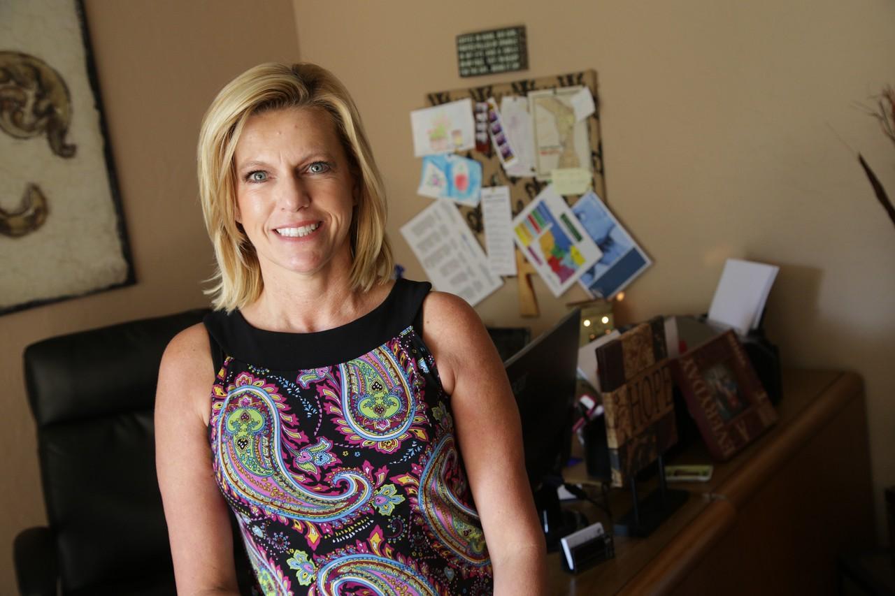 Traci Cook, Executive Director of NAMI Oklahoma.