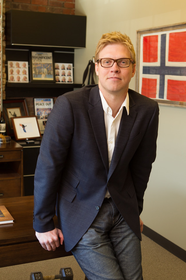Evan Anderson, co-founder of Oseberg Energy Services in Oklahoma City, OK.