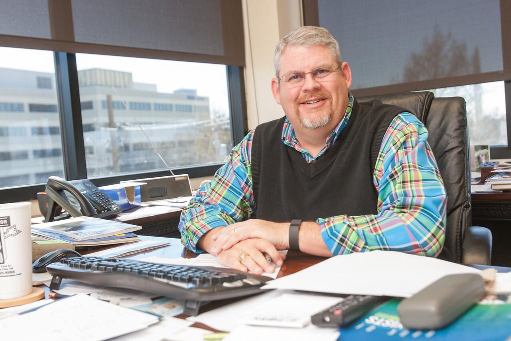 Roy Lee Lindsey, executive director of the Oklahoma Pork Council in Oklahoma CIty.