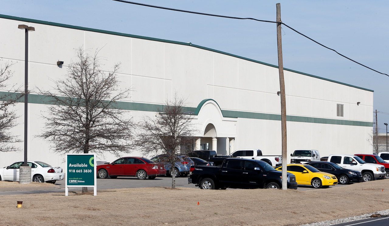 Boardwalk 55LLC of Tulsa, managed by Charleston Resources, paid $6.8 million last month for this 200,000-square-foot industrial building at 5402 S. 129th Ave. East in Tulsa, according to Tulsa County Courthouse records. The buyer took a $5.8 mortgage on the property with ONB Bank and Trust Co. of Tulsa, the debt due Jan. 28, 2022.