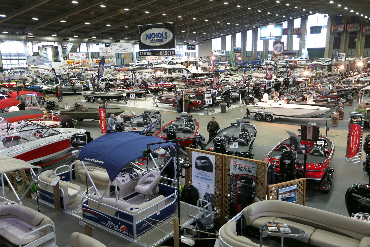The 2015 Tulsa Boat Sport & Travel Show.