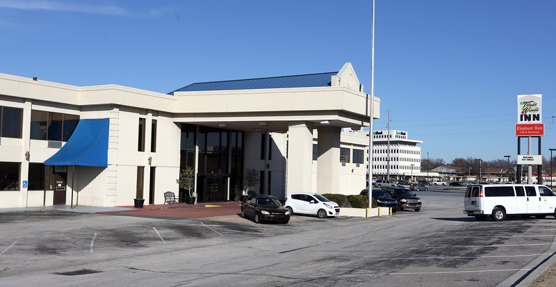 The Trade Winds Inn located at the corner of Harvard and Interstate 44 in Tulsa