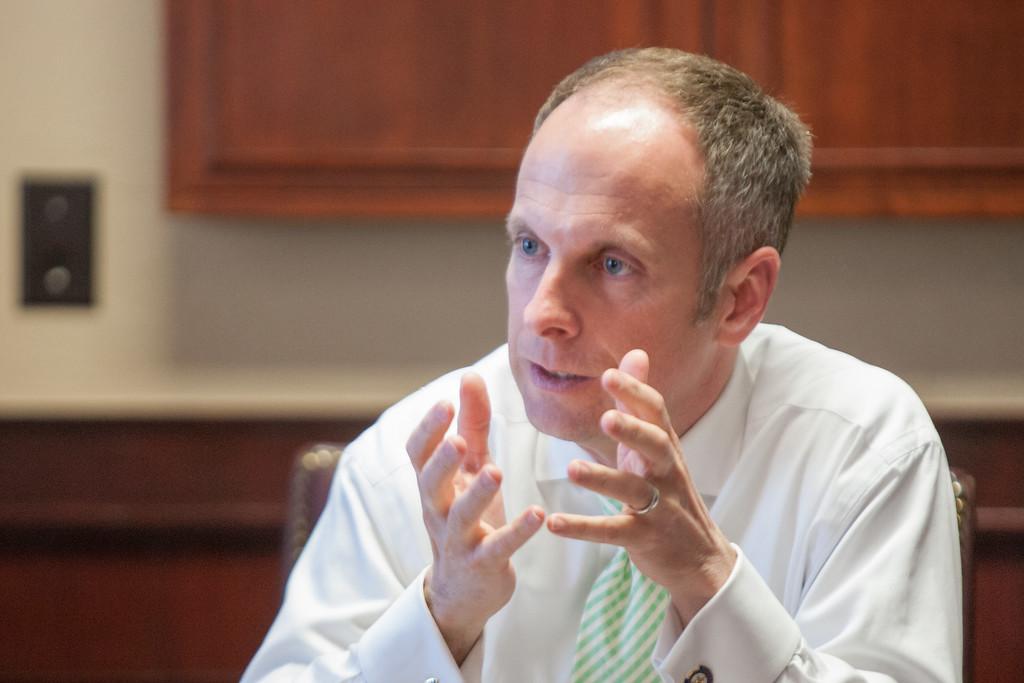 Oklahoma State Speaker of the House Jeff Hickman.