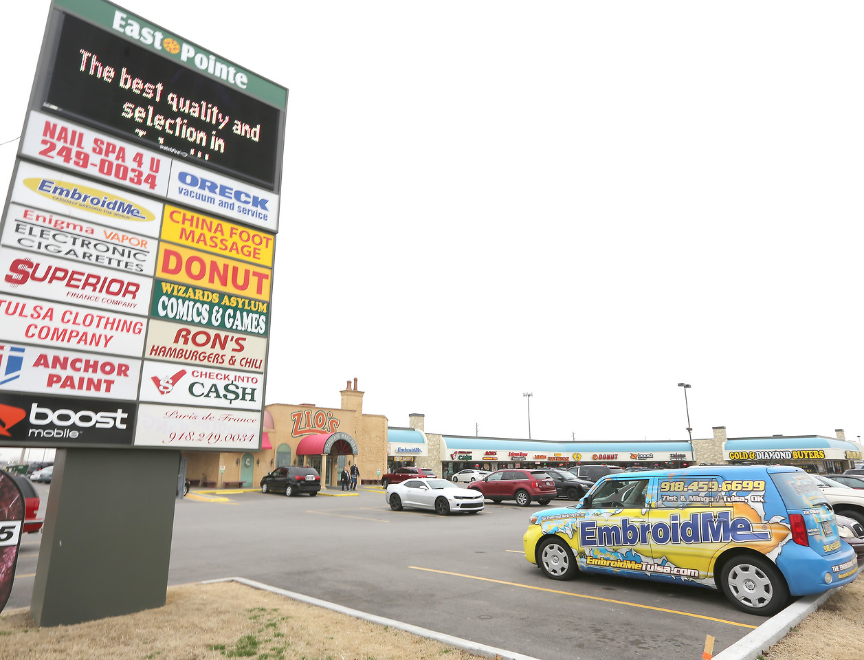 LaFortune Properties paid $6.5 million for south Tulsa's the East Pointe shopping center.