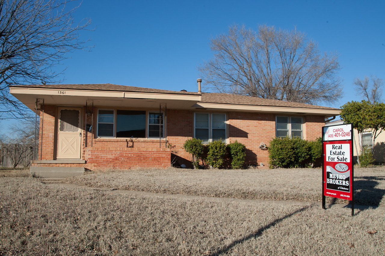 A home for sale in Norman, OK.