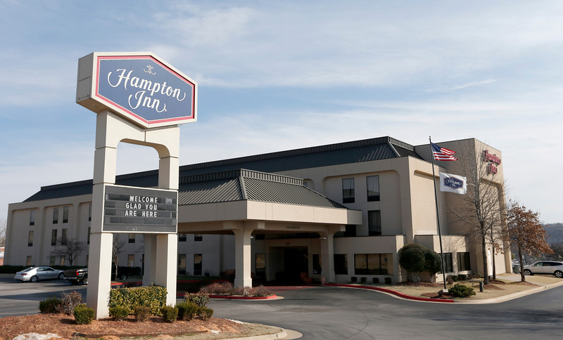 The Hampton Inn, 7852 W. Parkway Boulevard in Sand Springs.