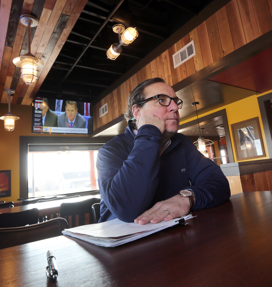 Jeff Morrell, VP of Marketing and Administration for the Rib Crib restaurant in Bixby.