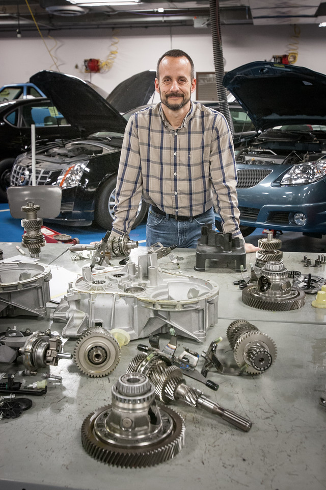 Brad Walker teaches in the automotive technology program at Oklahoma City Community College.
