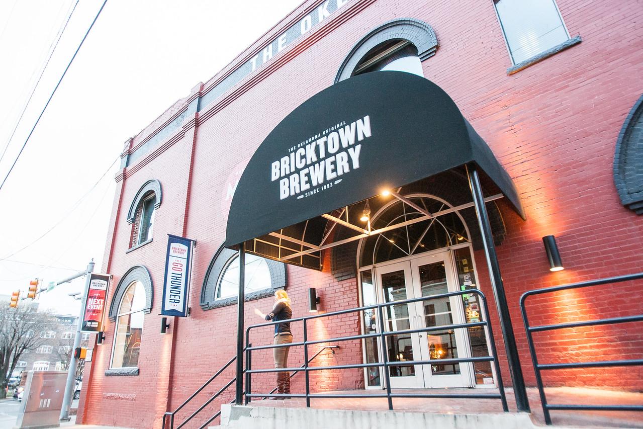 Bricktown Brewery in Oklahoma City.