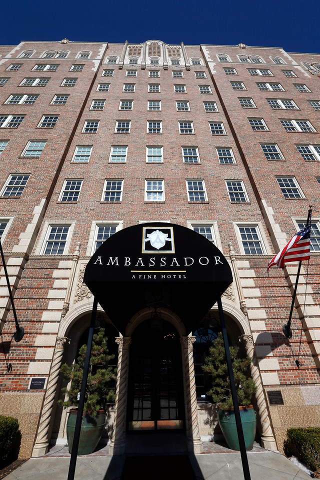 The Ambassador hotel in Tulsa.
