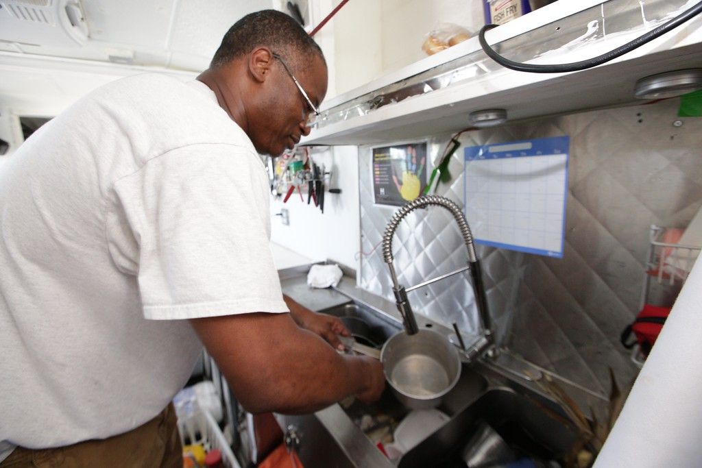 Rick Vic is owner of The Galley Soul Food and More truck.