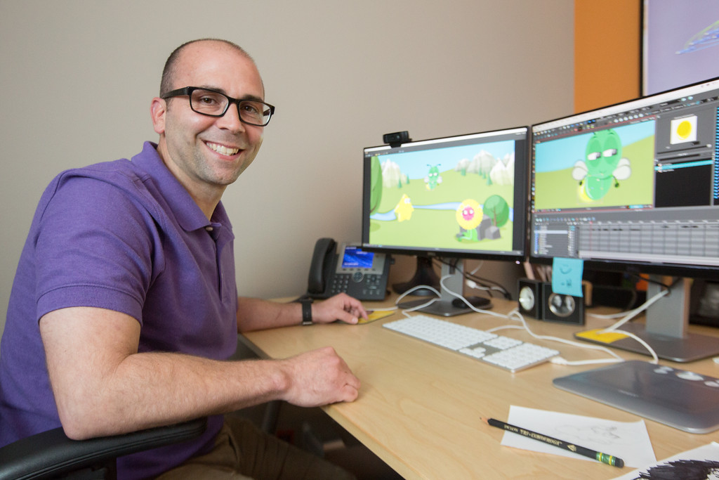 Sean McHargue is an animator for Life Church headquartered in Edmond, OK.