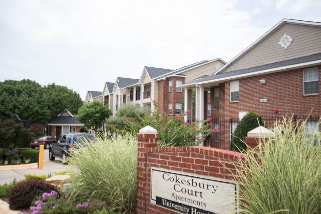 Cokesbury Court Apartments at Oklahoma City University.