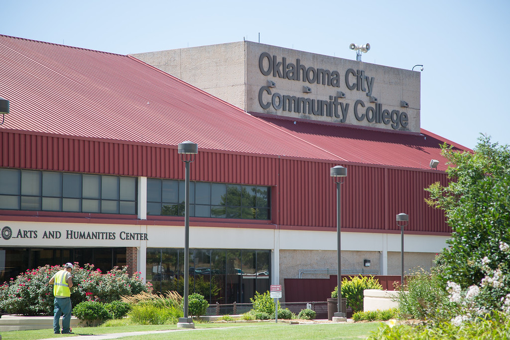 Oklahoma City Community College at 7777 S May Oklahoma City, OK.