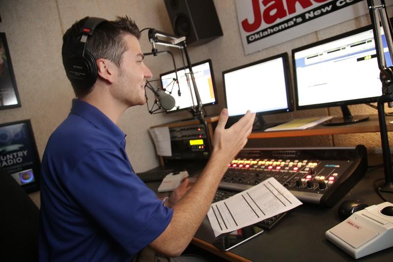 Owen Pickard, Assistant Program Director of Tyler Media in Oklahoma City, OK.