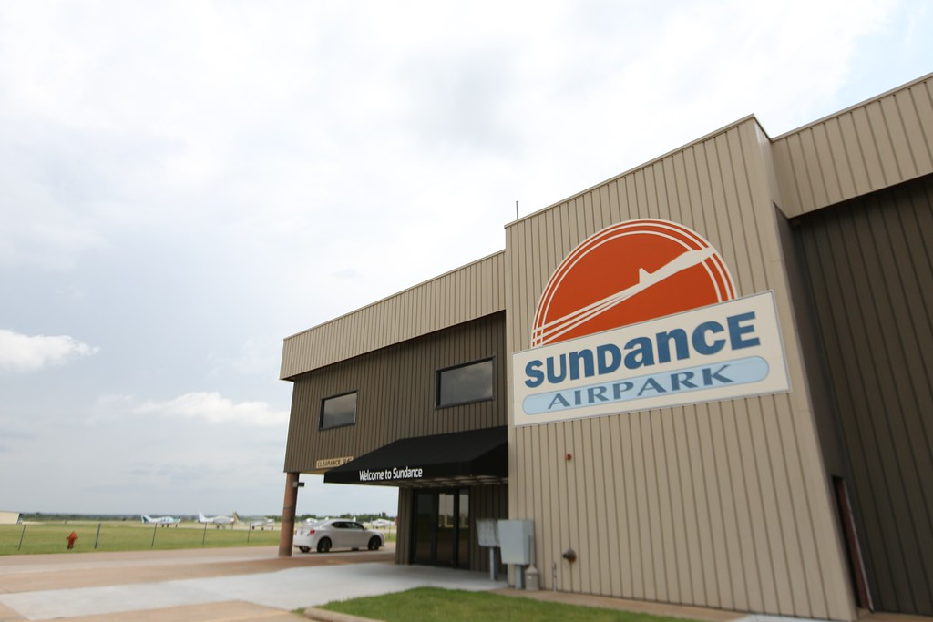 Sundance Airpark in northwest Oklahoma City.