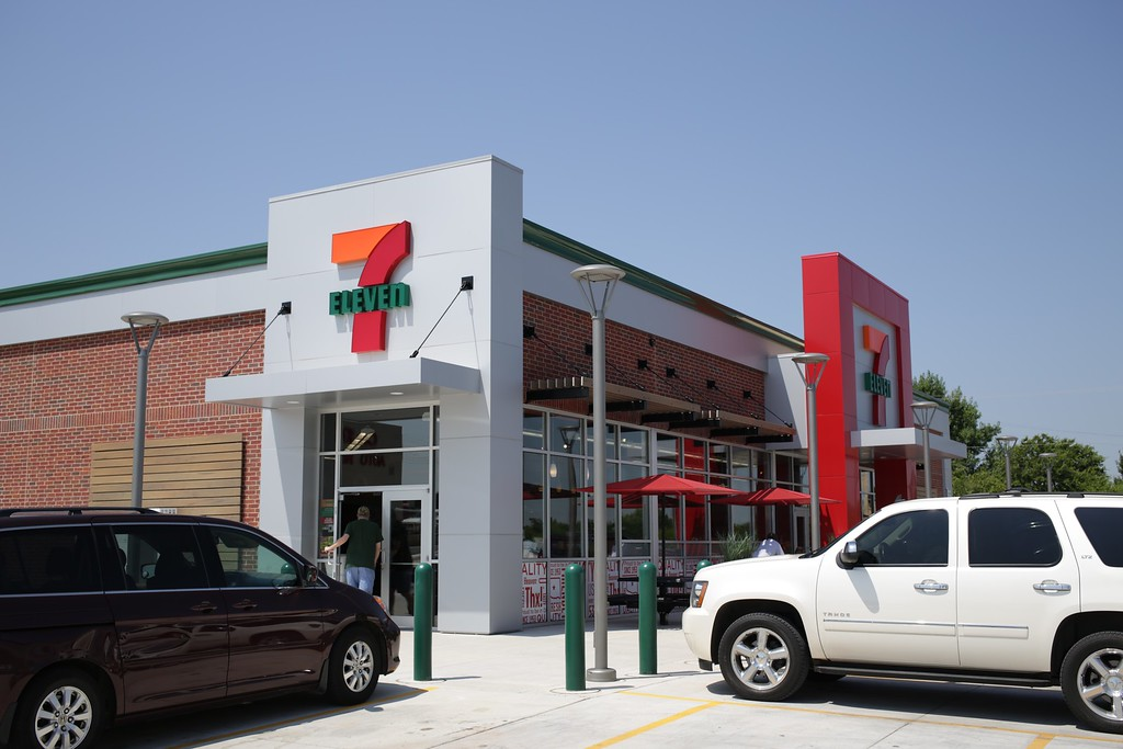 The new 7-11 at McArthur and Northwest Expressway in Oklahoma City.