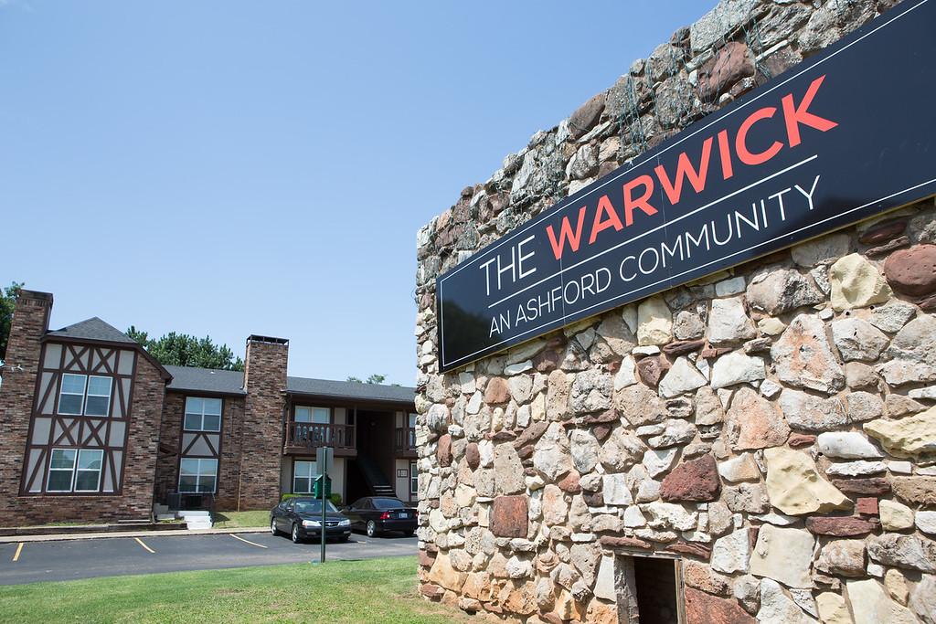 The Warwick Apartments at 3120 NW Expressway in Oklahoma CIty.