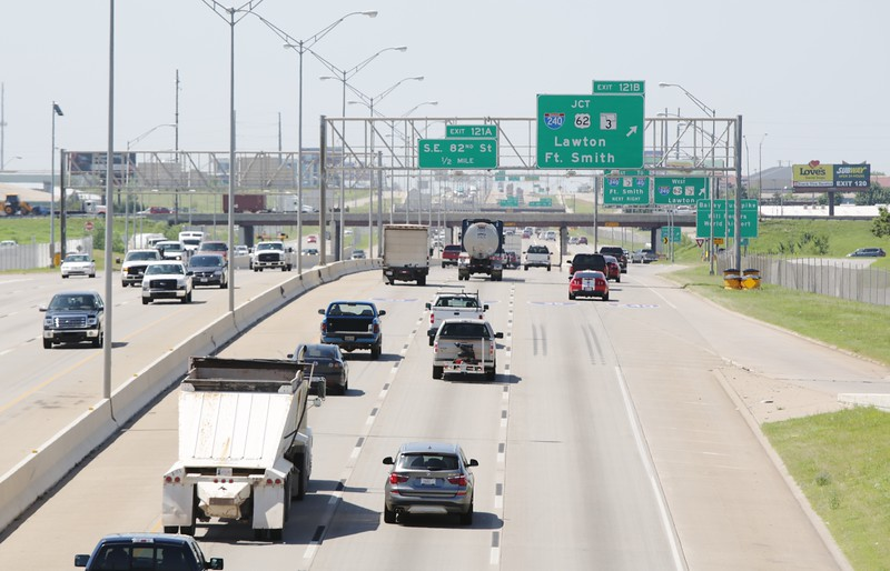 The intersection of I-240 and I-35 in Oklahoma City is scheduled for work by the Oklahoma Department of Transportation.