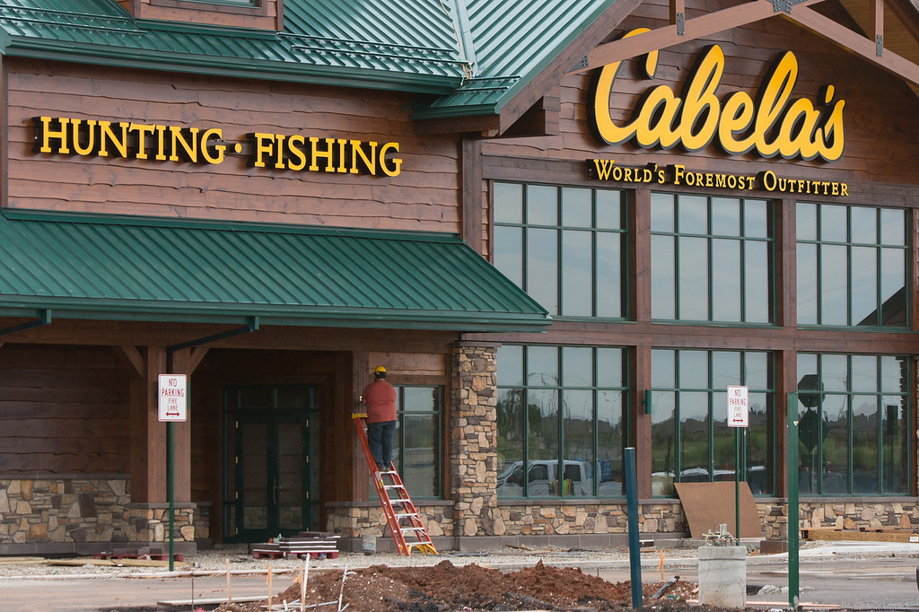 The Cabela's store at N Western and Kilpatrick Turnpike in Oklahoma City, OK.
