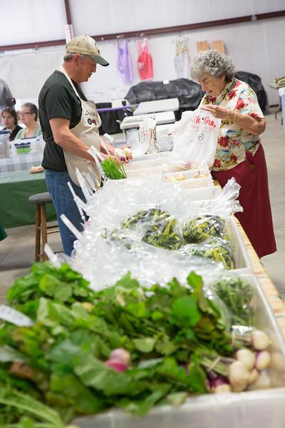 The OSU-OKC Farmer's Market at 400 N Portland Ave in Oklahoma CIty, OK.
