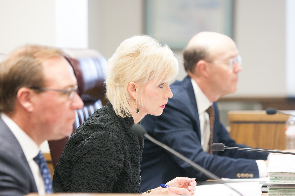 Oklahoma Corperation Commisioner Dana Murphy.