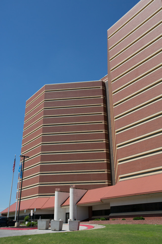 The Oklahoma County Jail in Oklahoma CIty, OK.