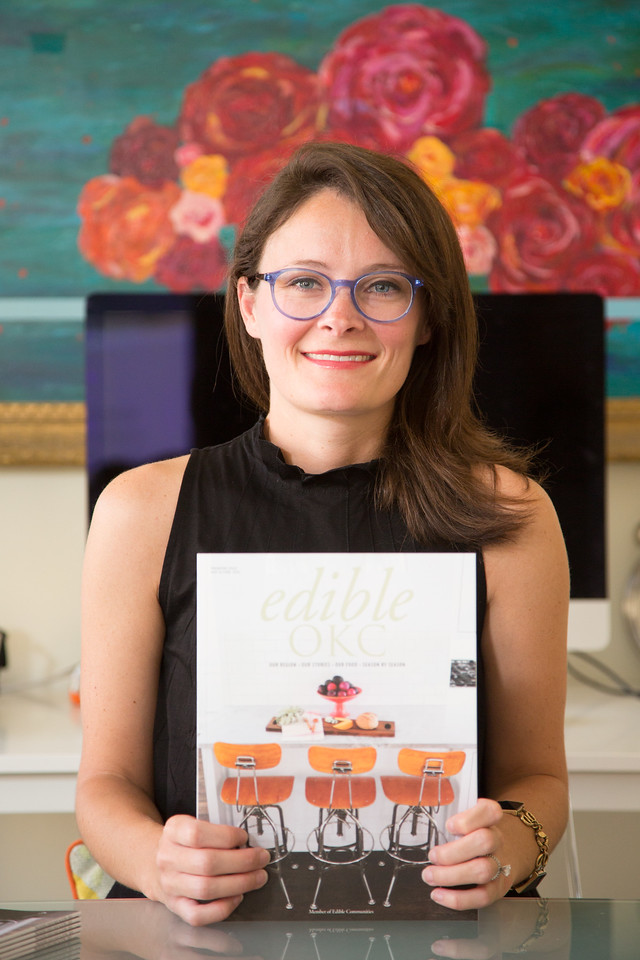 Jen Snow is Publisher nd Managing Editor of Edible OKC magazine based in Oklahoma City.
