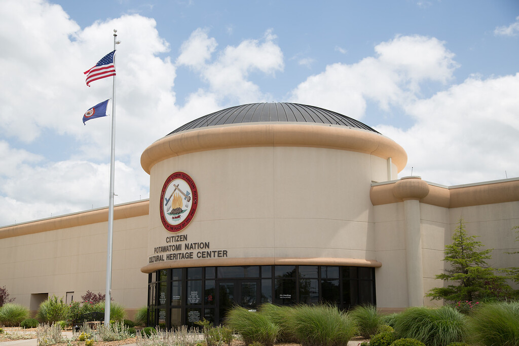 Citizen Potawatomi Nation Cultural Heritage Center in Shawnee, OK.