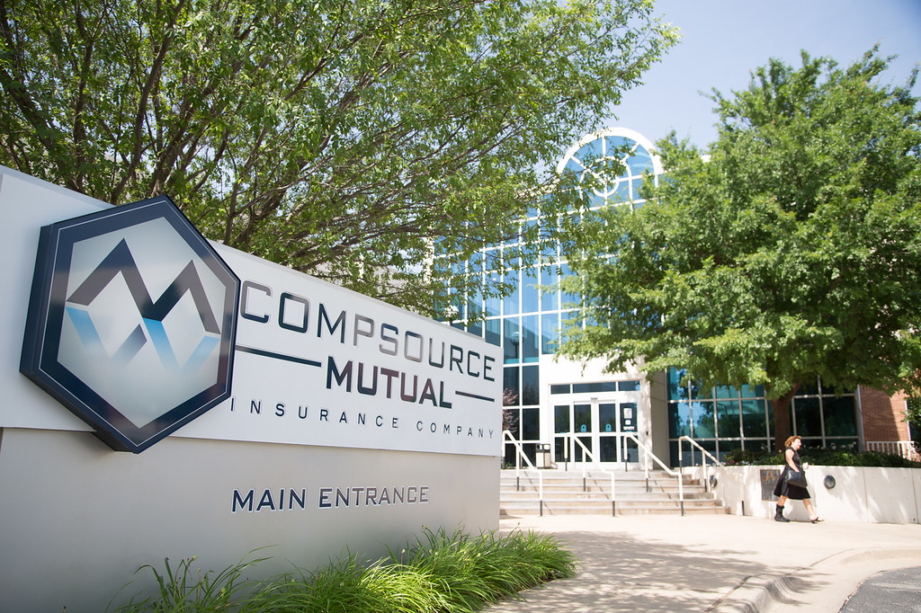 Compsource Mutual at 1901 N Walnut in Oklahoma City, OK.