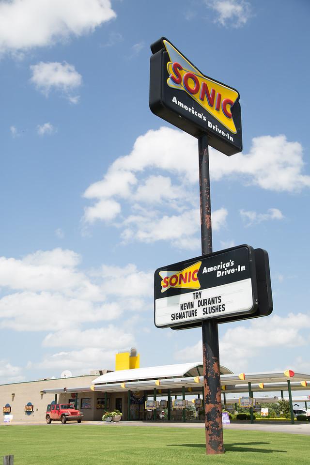 Sonic in Shawnee, OK.