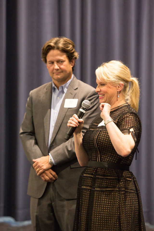 Heather and Kieth Paul were honered with the Urban Pioneer Award at a luncheon held at the Oklahoma City University Law School in downtoen Oklahoma CIty.