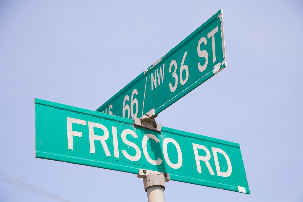 The City of Oklahoma City is planning to annex land at Highway 66 and Frisco Road just west of Yukon, OK.
