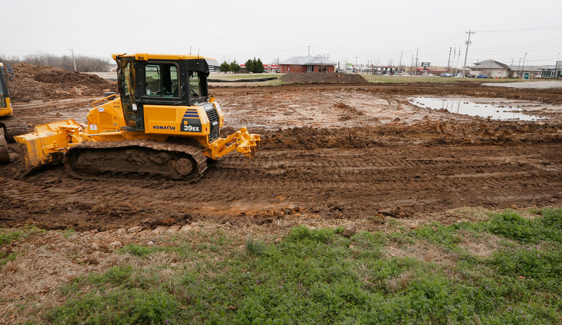 Dirt work has begun on the  commercial project ,The Village of Tulsa, on the Northwest corner of 81st and Garnett.