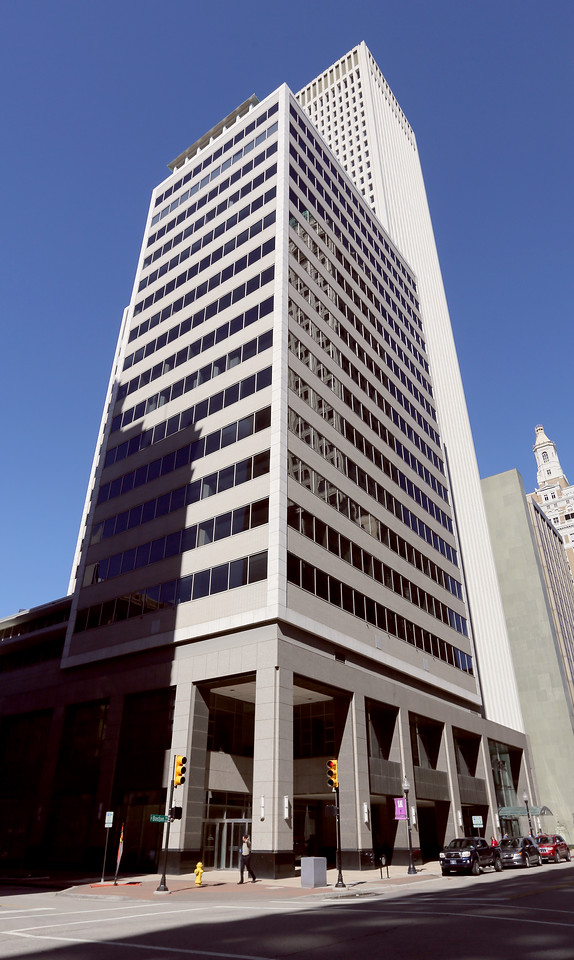 The First Place Tower at 15 East 5th Street in downtown Tulsa.
