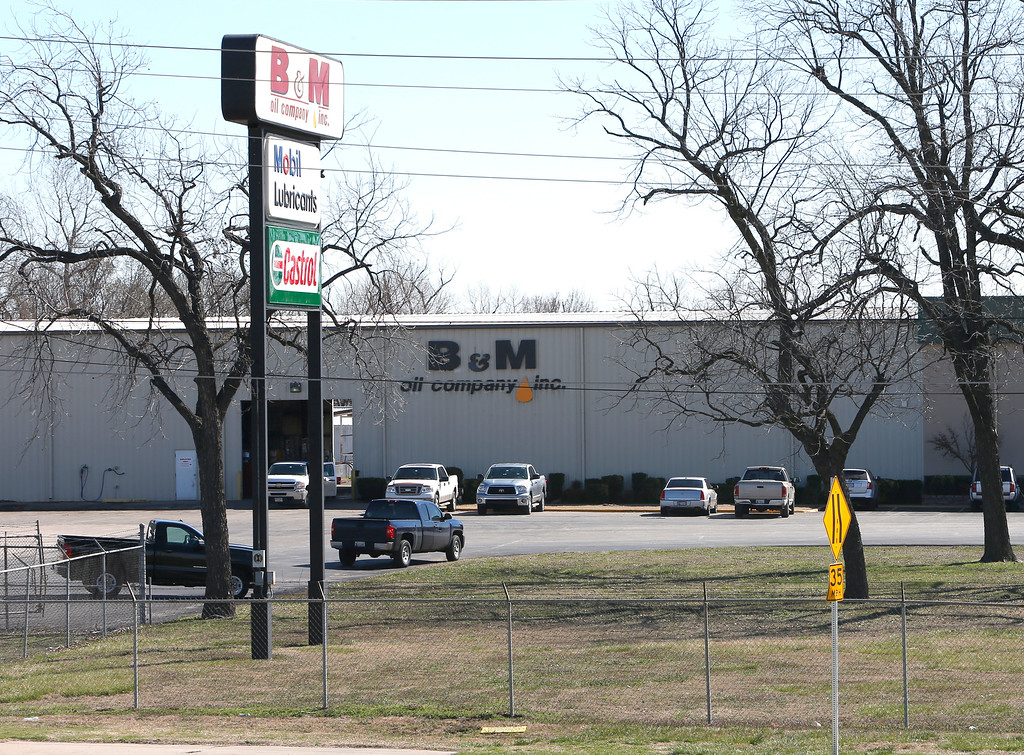 The B&M Oil Division offices at 5731 S 49th West Ave in Tulsa.